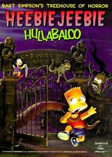Bart Simpsons Treehouse of Horror Heebie-Jeebie H