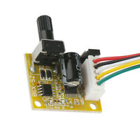 DC 5-12V 3 Phase Motor Speed Controller No Hall Brushless Driver Board Module