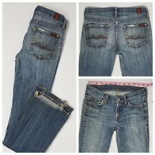 Seven 7 For All Mankind Womens Bootcut Jeans Size 24 x 32