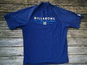 #06 BILLABONG Small Rashie Mens Swim Shirt Clean