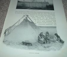 1902 Antique Print CANADIAN INDIANS Native Americans Canada