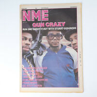 NME magazine 19 July 1986 RUN DMC cover Roxanne Womad Gerry Anderson