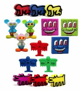 """Keith Haring x Medicom Toy """"Vinyl Collectable Dolls"""" Series 1 Mystery Blind Box"""