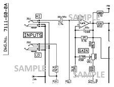 MARSHALL DBS 7200, 72115, 72410 200w Amplifier Schematic Diagram PDF