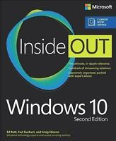 Inside Out: Windows 10 Inside Out (includes Current Book Service) by Craig...