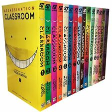 Assassination Classroom Yusei Matsui Volume 1-15 Collection 15 Books Set Magna