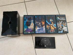 Coffret Trilogie star wars originale VHS K7 édition collector
