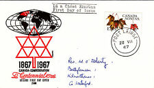 (42772) CLEARANCE Ireland FDC Canada Confederation - Waterford 28 August 1967