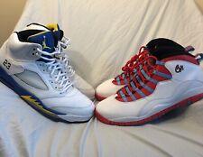 Air Jordan Retro 5 and 10 size 15 - Both Pairs