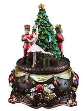 Caja de Música de Navidad Cascanueces Navidad Decoración Vintage Gisela Graham Ornamento