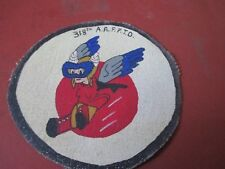WWII USAAF DISNEY WASP FIFINELLA   318 TH AAFFTD FLIGHT JACKET PATCH