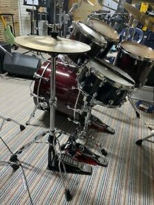 Drumset der Extraklasse, Yamaha Maple Custom Absolut, Cherry Red, guter Zustand!