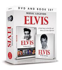 ELVIS PRESLEY IN THE MOVIES DOCUMENTARY DVD & BOOK ELVIS MUSIC LEGENDS GIFT SET