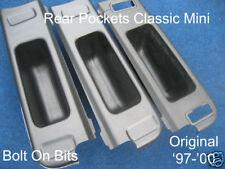 Rear Seat Pockets Factory Finish Classic Mini 1970-1996