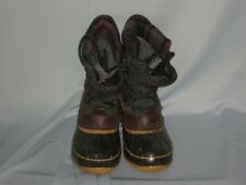 Mens Trailbuxe Rubber Leather Thermolite Boots Removeable Liner Size 7 #SH34