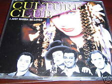CULTURE CLUB I JUST WANNA BE LOVED CD NEW IMPORT 3 TRK