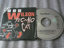 CD-TOM WILSON-TECHNO CAT-BOBBY HEATLIE SNR-IAN ROBERTSON-(CD SINGLE)95-2TRACK