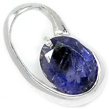 SSS P1438I IOLITE 925 STERLING SILVER PENDANT JEWELRY