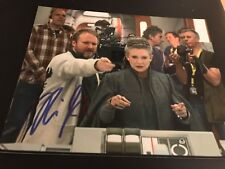 RIAN JOHNSON SIGNED AUTOGRAPH 8x10 PHOTO LAST JEDI STAR WARS IN PERSON COA NY X1
