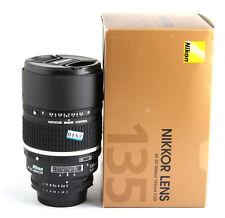 Nikon NIKKOR 135mm f/2 RF D AF A/M DC Lens  Mint