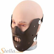 Deluxe Hannibal Lecter Face Mask Halloween Fancy Dress Costume Accessory