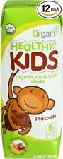 Proteina Para Niños - Batido De Proteina Organico Sabor Chocolate - 12 Batidos
