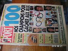 1µ??  Revue Le Sport n°116 Paris Cap 1992 J.O 1992 100 chance medaille français