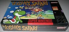Yoshi's Safari (Super Nintendo ) Brand NEW! SNES