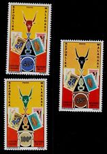 MALAGASY REPUBLIC   SCOTT#  468-470  MNH   STAMP ON STAMP TOPICAL