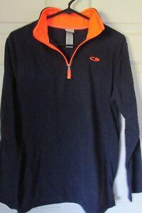 Champion- Boys Size XL (16-18) 1/4 Zip Fleece Shirt