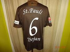 "FC St.Pauli DoYou Fotball Matchworn Trikot 2008/09 ""Congstar"" + Nr.6 Trojan Gr.M"