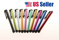 10pc Universal Capacitive Stylus Pens For Kindle Iphone ipad Galaxy Tablet