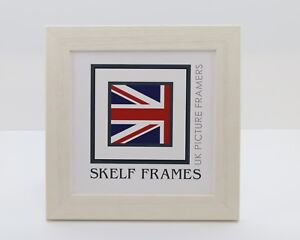 Skelf Frames - WHITE DRIFTWOOD EFFECT SQUARE PICTURE PHOTO POSTER WOOD FRAME