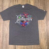 Vintage Islands Of Adventure Universal Studios Shirt Large Spider-Man Villains