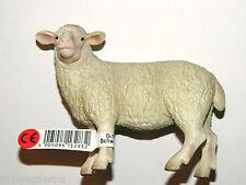 Pecora sheep Schleich vintage nuova marchiata Am Limes 69 D-73527 Presepe