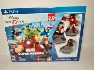 Disney INFINITY 2.0 : Marvel Super Heroes Starter Pack PS4 PLAYSTATION 4 sealed