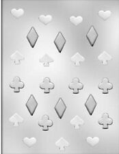 Playing Card Suits Chocolate Candy Mold from CK  #13412 - NEW