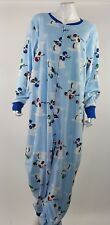 Football Jammies for your Families 1pc Fleece Pajama Womens Plus Size 2x NWOT