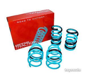 """Godspeed Tractions-S Lowering Spring for Toyota Sienna *FWD* 11-14 2.1""""F 2.2""""R"""