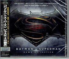 Hans Zimmer Batman V Superman Dawn of Justice Japan CD Sicp-4756 IMPORT