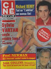Ciné Revue n°13- 1984 : Sylvie Vartan Richard Berry Paul Newman