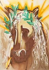 Salvador Dali - Horse of Spring (signed lithograph, 1983)