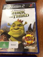 Shrek the third ps2, good condition, complete, Playstation 2 tested