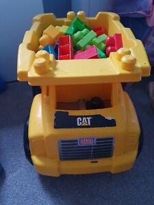 Tipper  Truck WithMega Blocks