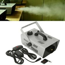 900W Smoke Fog Machine Wireless Remote DJ Disco Party Stage Fogger Smoker