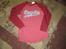 NEW District Threads Ladies XS COYOTES Long Sleeve