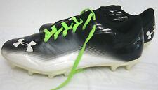 Men's UNDER ARMOUR MICRO G 4D FOAM FOOTBALL YYll-S1 Black White Sz. US-13 /