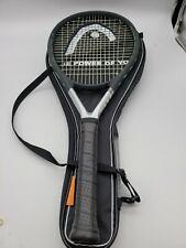 "New listing HEAD TI S6 TITANIUM TENNIS RAQUET XTRA LONG 4 1/8"" GRIP"