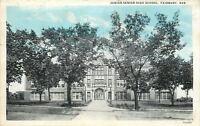 Fairbury Nebraska~Junior Senior High School~1932 Postcard