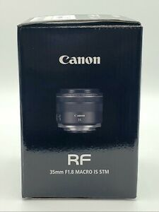 Canon RF 35mm F1.8 Macro Is STM Lens BOX ONLY